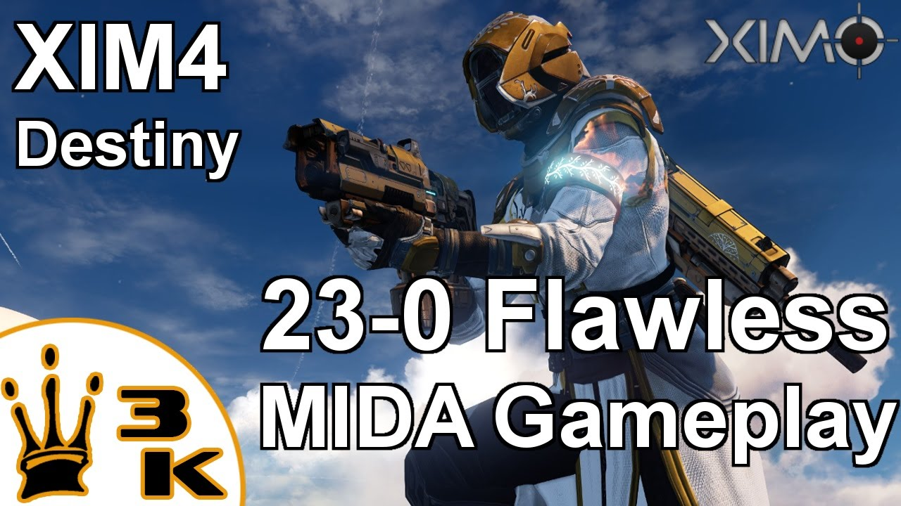 XIM4 - Destiny 23-0 MIDA Gameplay Skirmish on Twilight Gap by T3h GrayWo1f3  (PS4)