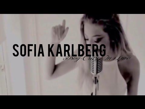 Sofia Karlberg| 50 Shades Of Grey Trailer - Crazy In Love