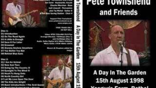 A Little Is Enough - Pete Townshend Live [Audio]