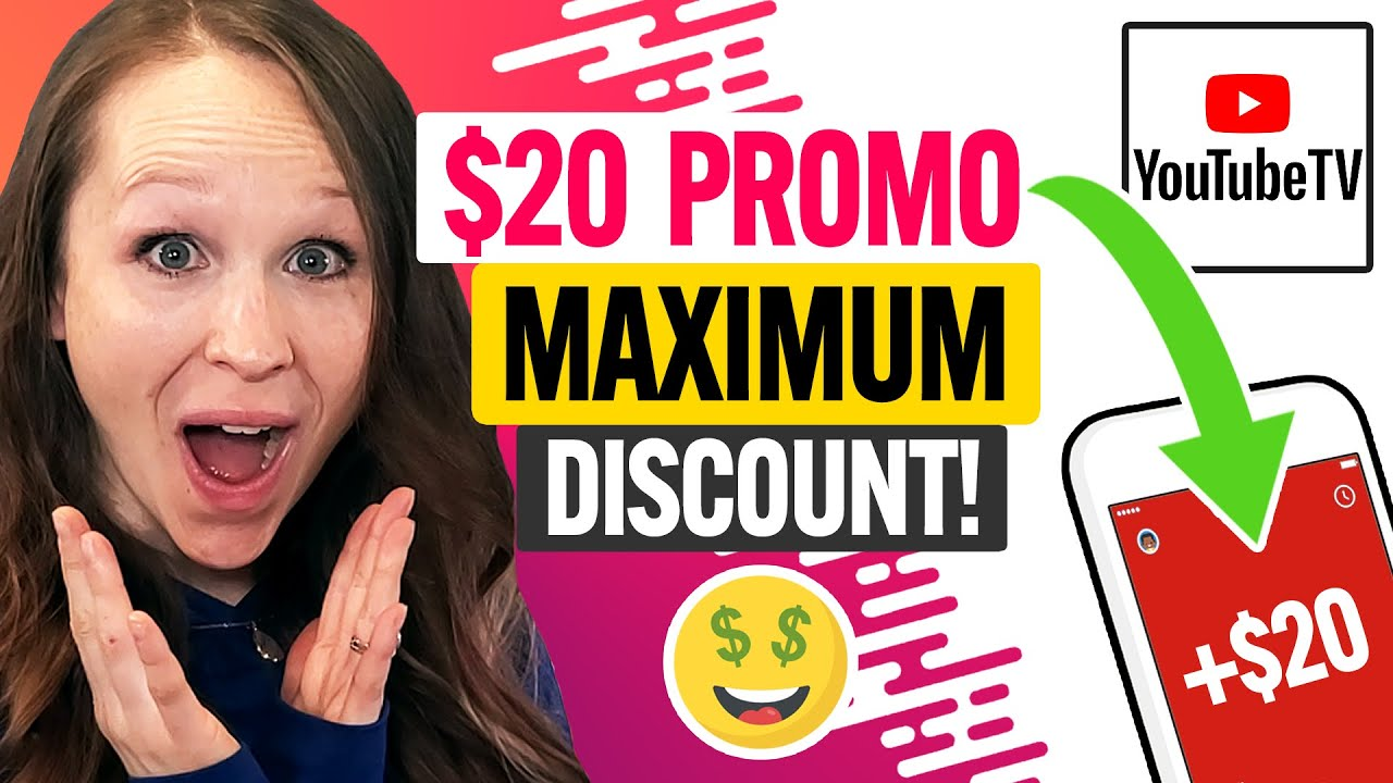 Download 📺 YouTube TV Promo Code 2021: MAX Coupon Discount for New Users and Existing Customers (100% Works)