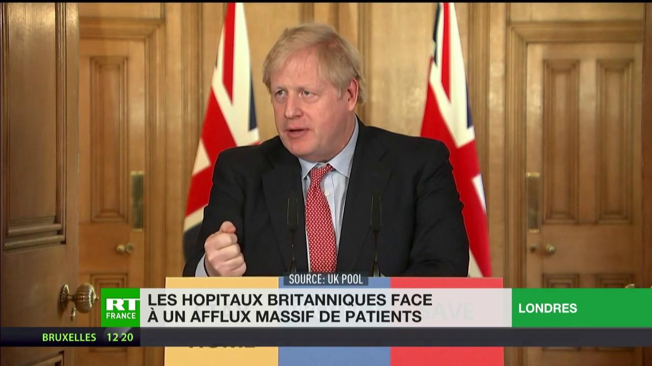 Covid-19 : les hôpitaux britanniques face à un afflux massif de patients