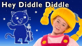 Hey Diddle Diddle and More | PRETEND ANIMALS SHAPES | Baby Songs from Mother Goose Club!