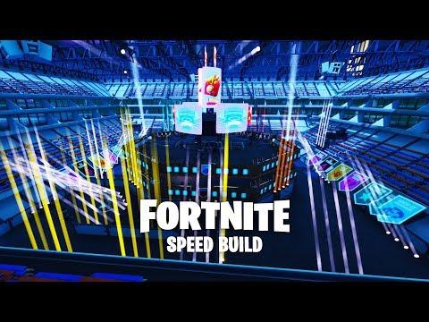 Fortnite Creative - Fortnite WORLD CUP Stadium - Speed Build