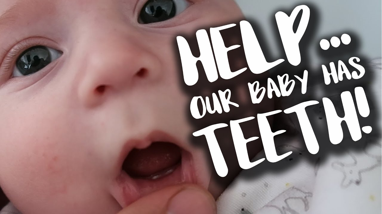 Help... Our 4 Month Old Is Teething!!!  f74f305592