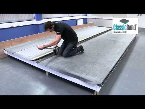 Flat Rubber Roof with Seam - EPDM Installation Guides and ...