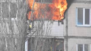 Пожар, Киев (24.02.2015)