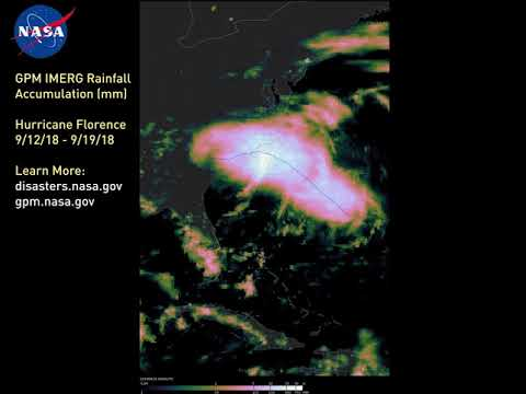 NASA Storm Analysis of Florence from a Suite of Satellites
