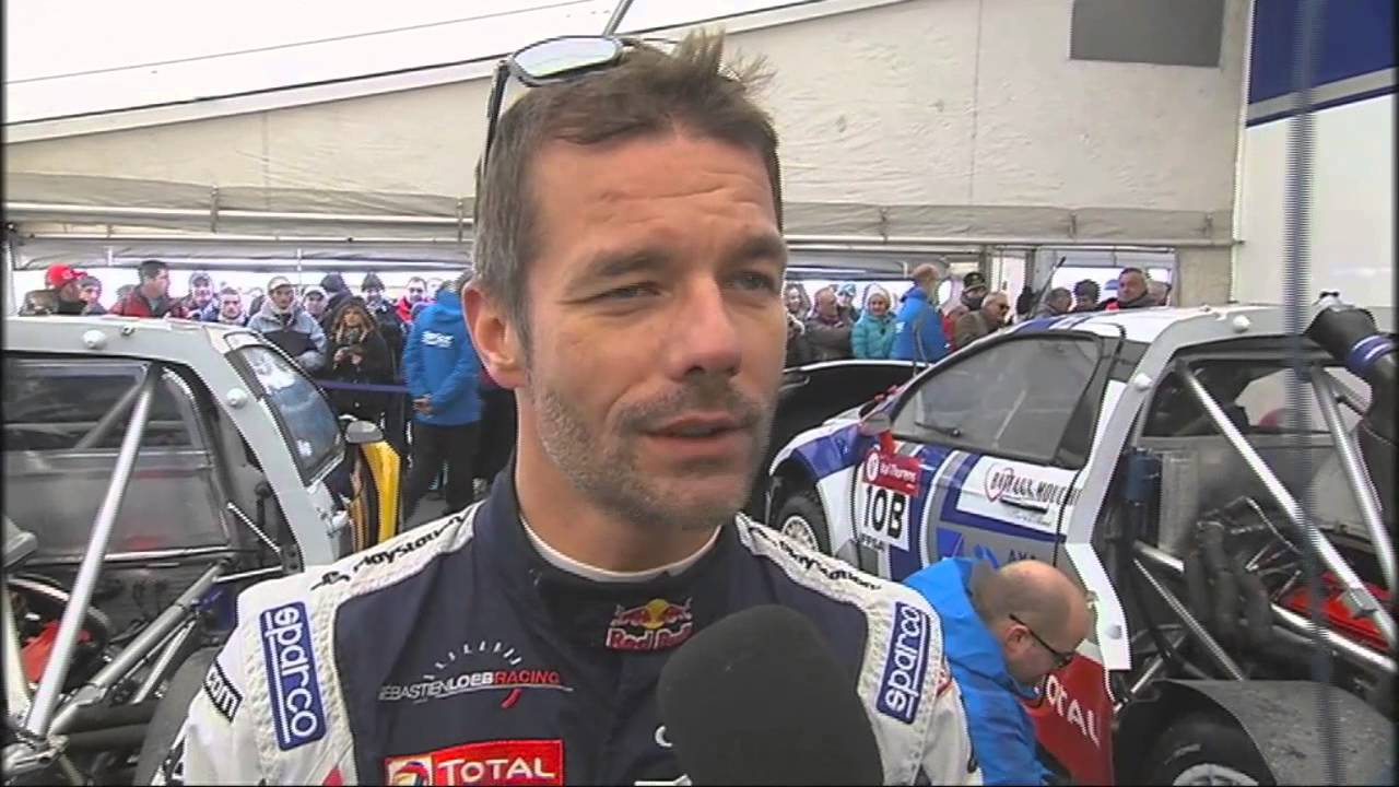 Sébastien Loeb - 2017 Dark Brown hair & alternative hair style. Current length:  near-shaved Hair