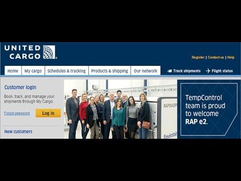 United Cargo Tracking,United Air Cargo Tracking Status
