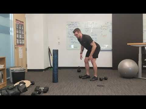 Common faults for the bent over DB row