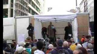 Green Party | Protest For Gaza, Against BBC Charity Broadcast refusal | London 24 Jan 2009