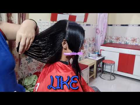 Step Cut For Medium Hairs | Step By Step | Cutting | Hairs | Gayatri Beauty Parlour