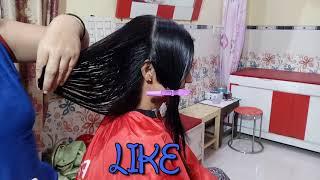Step Cut For Medium Hairs | Step by Step | Cutting | Hairs | Gayatri Beauty Parlour