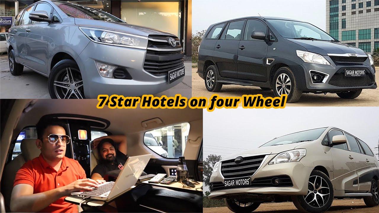 3 Used Modified Innova In Delhi | Luxury Hotel On Wheels | MCMR
