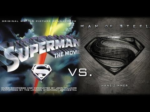 Superman of Steel  Hans Williams John Williams vs Hans Zimmer