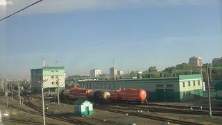 . Москва-Выхино-Электрозаводская. Поездка на поезде Сура(В данном видео представлена поездка на фирменном скором поезде № 51