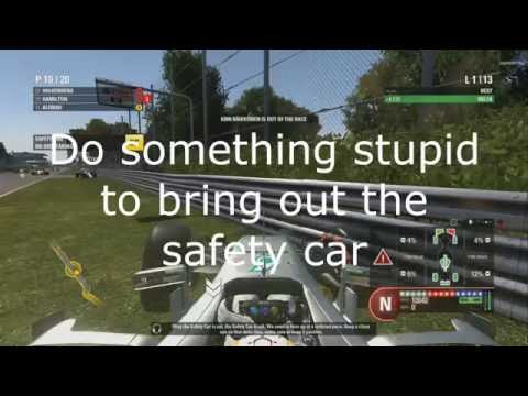 F1 2016: Trust In Your Team EASIEST METHOD Trophy/Achievement Guide (Pit Under Safety Car)