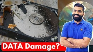 Data Rot - Data Damage in Hard Drives, SSDs and CD-ROMs - Life of Data???