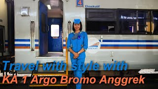 Travel with style with Argo Bromo Anggrek Train