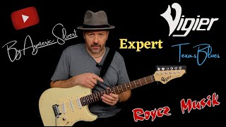 Vigier expert Texas Blues by Aymeric Silvert