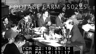 HUAC Hearing: Robert Taylor; Howard Rushmore; Morrie Ryskind 250225-03