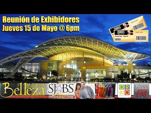 Reunión de Exhibidores - San Juan Beauty Show 2014 - Belleza Magazine