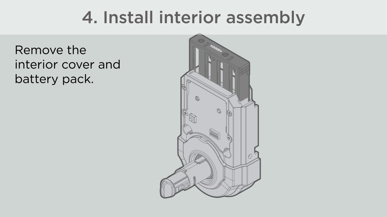 911 910 Kwikset Battery Holder for 909 912 Series SmartCode Deadbolts and ...
