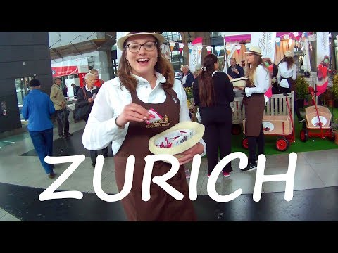 Switzerland Travel: How Expensive is ZURICH? & City Tour!