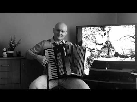 Domino -Waltz Musette Accordion Akkordeon Akordeon HD