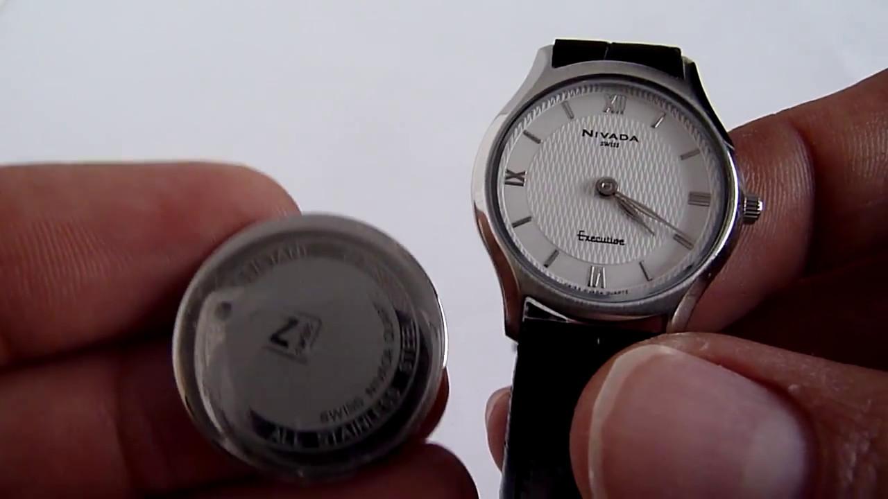 a2c073b142a9 (A LA VENTA) Reloj Nivada Executive Para Dama