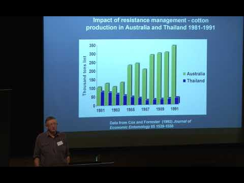 Pest management issues in cotton-changing perspectives, Adjunct Professor Peter Gregg