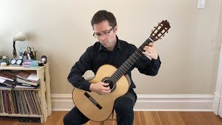 greensleeves by cutting - lesson & free pdf for classical guitar