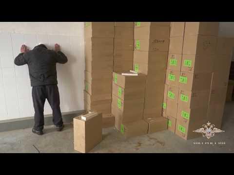 Подпольное производство сигарет пресекли в Рязанской области сотрудники полиции