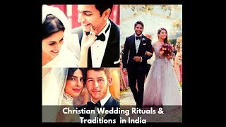 Christian Wedding Rituals & Traditions In India tbg Tribute  Tbg Bridal Store