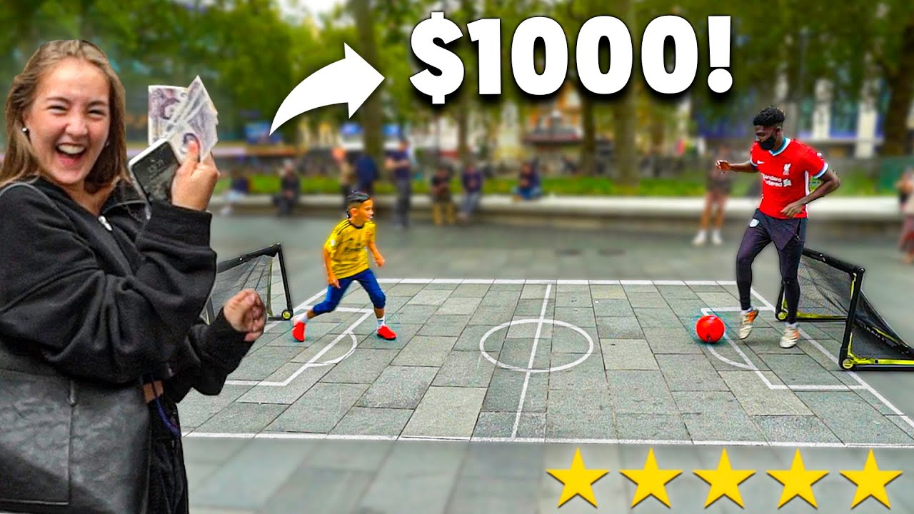 Nutmeg Me, I'll Buy You Anything - Football Challenge