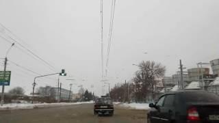 Timelaps, из Тольятти в Самару