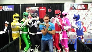 Rose City Comic Con 2014 - Power Rangers with Steve Cardenas and Robert Axelrod!