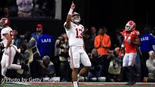 Adam Amin Reflects on Alabama's Win over Georgia