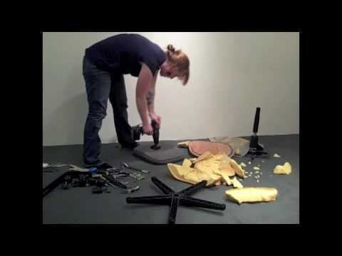 Disassembly of a Task Chair.mov - YouTube