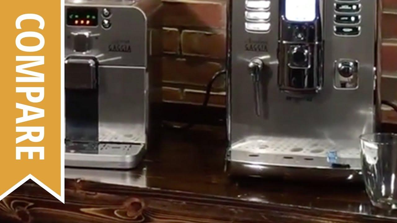 compare gaggia brera and gaggia accademia espresso machines youtube. Black Bedroom Furniture Sets. Home Design Ideas