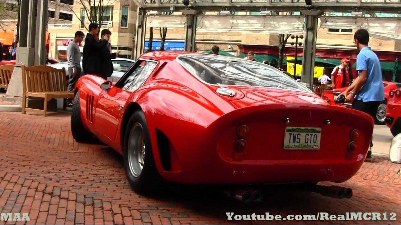 1962 ferrari 250 gto for sale. ferrari 250 gto (authentic replica) - sound club of america youtube 1962 gto for sale g