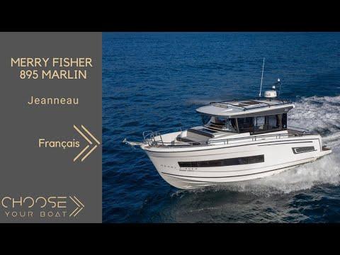 MERRY FISHER 895 Marlin - Jeanneau - Visite Guidée  (en Français)