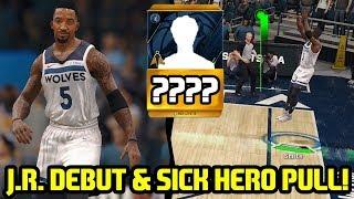 J.R. SMITH DEBUT & SICK TIMBERWOLVES HERO PACK PULL! NBA LIVE 18 ULTIMATE TEAM