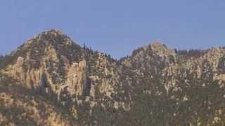 Camping Trip 2013, Part 2, Hwy 190, Lone Pine, CA,  HWY 395