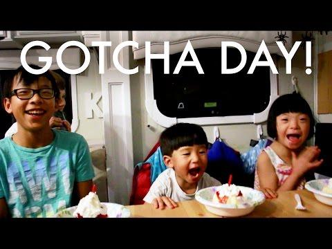 ADOPTION GOTCHA DAY CELEBRATION!!! : RV Fulltime w:9 kids