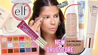 I TRIED $500 WORTH OF NEW DRUGSTORE MAKEUP... was it worth the COIN?