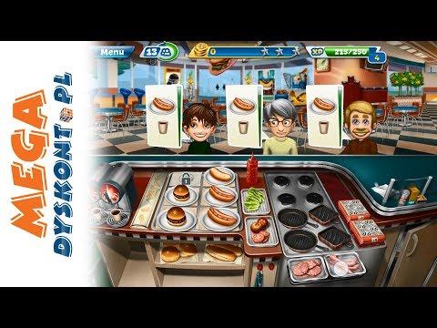 Cooking Fever Gra • Kraina Fast Foodu • Gry na telefon