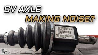 How To Diagnose A Bad CV Axle