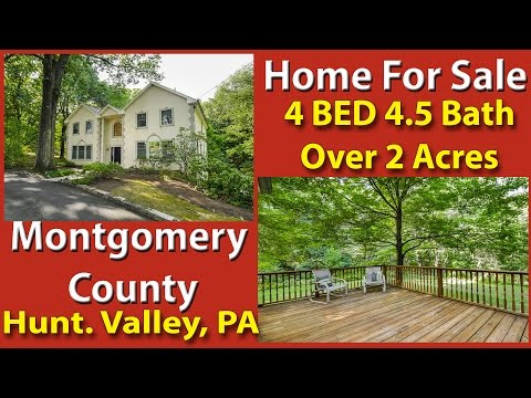 Home For Sale 4 BEDROOM 4+ BA 1366 Old Ford Huntingdon Valley PA 19006 Real Estate Montgomery County