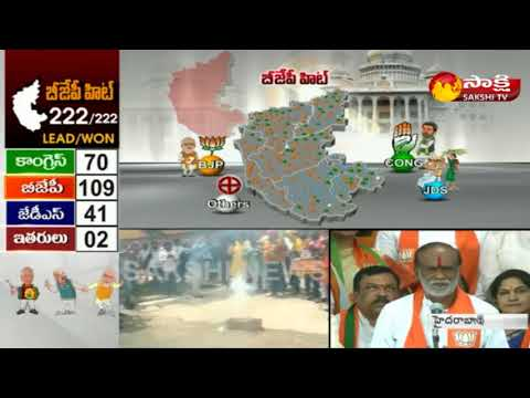 Karnataka Assembly Election Results 2018    BJP Dr.K. Laxman Face to Face